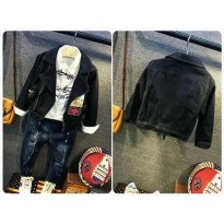 Jaket black sleting (jaket only)