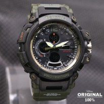 Termurah! Jam Tangan Pria Tetonis Original Man TM2005 Rubber Green
