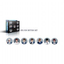 BTS Summer Special Pin Button Set