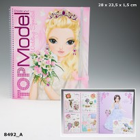 TOP Model TM8492 Create your Wedding Special TM Colouring Book