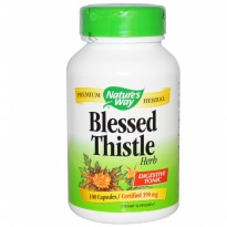 (Pencernaan, ASI) Nature's Way Blessed Thistle 100 Veggie Capsules