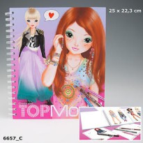 TOP Model TM6657 Create your TOPModel colouring book