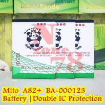 Baterai Mito A82 Plus Pin Connector Jepit BA00123 Double IC Protection