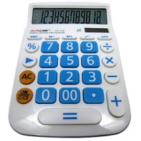 Alfalink Calculator CD 12F Blue