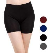 Short All Size & Jumbo 12 Warna - Celana Stretch Pendek Wanita