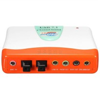 [globalbuy] External adapter USB 7.1 Channel 5.1 Optical Audio Sound Card for Win7 8/4949315