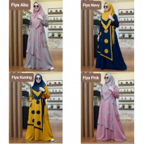 Dress Muslim Gamis Modis Jumbo Size XL Fiya hd