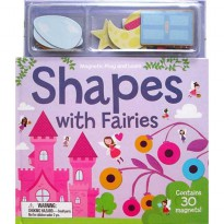 [Xivan] Magnetic Play and Learn Shapes with Fairies (contains 30 magnets)