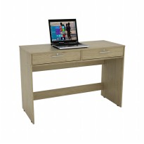 Prissilia Calibrate Desk 2 Drawers - Oak