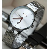 Promo Jam Tangan New Nixon The Kensington Silver