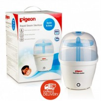 PIGEON Rapid Steam Sterilizer Quick & Easy - BPA Free