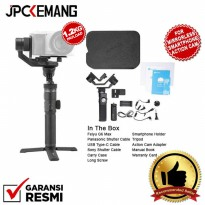 Feiyu G6 Max 3-Axis USB Cable and WiFi Control Handheld Gimbal Stabilizer 3in1 GARANSI RESMI