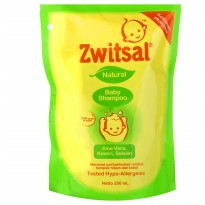 Zwitsal Natural Baby Shampoo Refill 250 ml - 2 Pcs