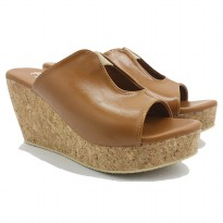 Dr.Kevin Women Wedges 27369 Tan