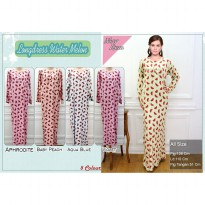 Longdress Katun Rayon Motif Watermelon