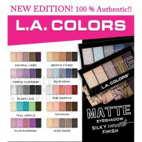 LA COLORS - MATTE EYESHADOW ORI ORIGINAL