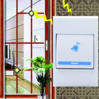 Doorbell Wireless / Bel Pintu Rumah Tanpa Kabel / Bell Wireless J306B (AC) + FREE 1Pcs BatteryAA 23A