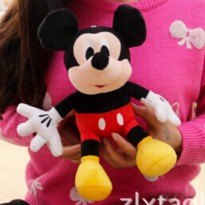 [globalbuy] 1pcs 11 28cm Minnie and Mickey Mouse low price Super Plush Doll Stuffed Animal/3132571