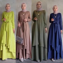 Dress Muslim Gamis Lebaran Modis Ola hd