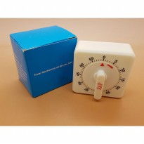 SAP Timer Manual / Timer Mechanical / Kitchen Timer ( 7cm x 7cm )