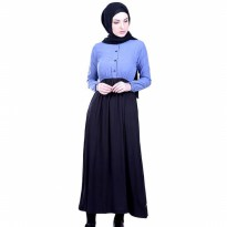 Dress Wanita / Dress Wide biru Hurricane H 3125 murah ori original