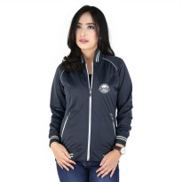 Jaket / Hoodies Kasual Couple Wanita Abu Raindoz RYI 104 murah ori
