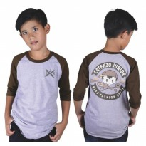 Kaos / T-Shirt Distro Anak Laki katun Abu Misty Catenzo Junior CPS 052