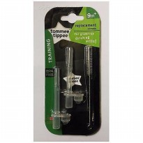 Tommee Tippee Replacement Straws - 2 Pcs / Sedotan Botol Minum