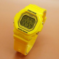 Promo Jam Tangan Fortuner 9028 Yellow Original
