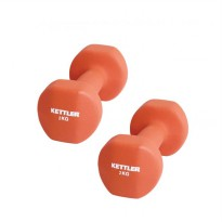 Kettler Dumbell Neoprene 4kg Orange / Dumbel Neoprene Orange (4kg/pair)