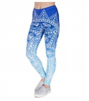 Legging Mandala Fitness Blue All Size ASSPF5