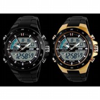 MODEL TERBARU BIZEN SKMEI + BOX Dual Time Zone Digital 5 ATM Waterproof Anti Air Bisa Berenang