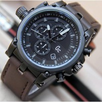 Promo Jam Tangan GC Chrono 6621 Dark Brown