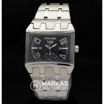 Jam Tangan Pria Police Dimention Date Stainless Steel Watch_Super AAA