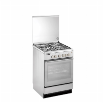MODENA FC 7643 S PRIMA - Freestanding Cooker 60 cm - Stainless Steel - 4 Tungku FC-7643S / FC7643S