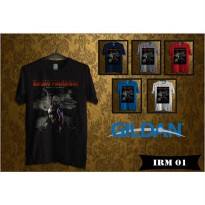 Kaos Musik Band Iron Maiden - Kaos Original Gildan Softstyle