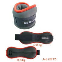 Kettler Foot Band Orange (1kg/pair) / Pemberat Kaki Kettler 1kg/pasang