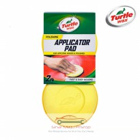 Turtle Wax Applicator Pad - Busa Poles Wax Mobil - BAHAN SUPER LEMBUT ORIGINAL Made In USA