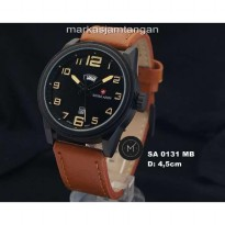 Jam Tangan Pria Swiss Army SA-0131/5142 Day-Date Leather