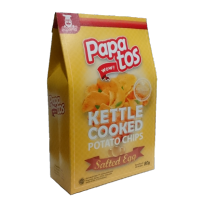Papatos Salted Egg Potato Chips 80g