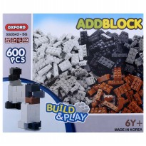 Oxford - KIDS BLOCK - 600 PCS SET 1 (SS3541)
