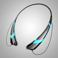 Bluetooth Headset Two Channel MP3 Music Headphone - HBS-760