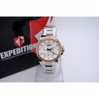 Expedition E6606 Silver Rose Gold Plat White for Ladies Original