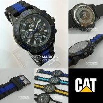 Jam Tangan Pria Caterpillar Rider Chronograph Rubber Watch