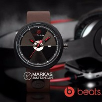 Jam Tangan Beats By Dr.Dre Leather Watch