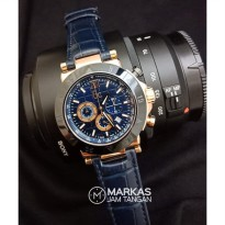 Jam Tangan Pria Guess Collection Gc Sport Chic Chronograph Leather