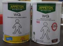 Appeton Weight Gain Adult Rasa Vanila / Coklat 900gr