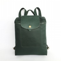 Authentic Longchamp Le Pliage Backpack Neo Zoella - Emerald Green