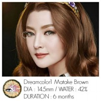Softlens Dreamcolor Matake Brown