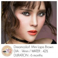 Softlens Dreamcolor Mini Lapis Brown